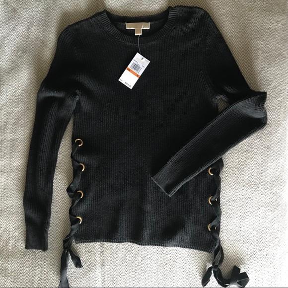 6c7304781c37 WINTER SALE! NWT Michael Kors Black Sweater